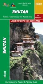 GHT Bhutan Map